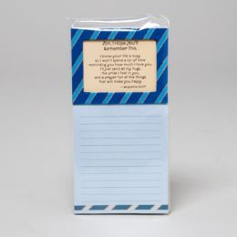 216 Units of Notepad Magnetic Inspirational Son I Hope You'll *4.95* Remember This - Dry Erase