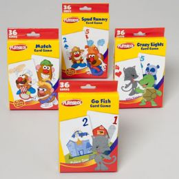 96 Units of Playskool Game Card Assortment In Pdq 4 - Card Games
