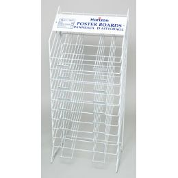 Poster Board Display Rack 10 Tier Ref #blk5222 Rack Only!! No Poster Board Included - Poster & Foam Boards