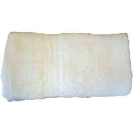 288 Units of 12x12 Heavy Wash Cloth White 1.25 lb - Towels