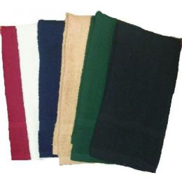 144 Units of 16x27 Salon Solid Color Hand ToweL- 2.75 Lb Dozen - Towels
