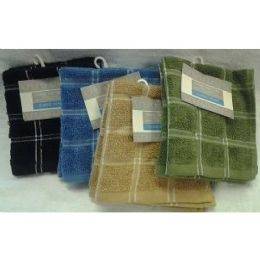 72 Units of 2 Pk 12x12 Heavy Yarn Dyed DishclotH-Positive - Towels
