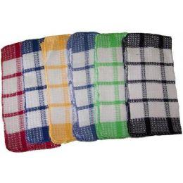 720 Units of 13x13 Heavy Waffle DC Assts - Towels