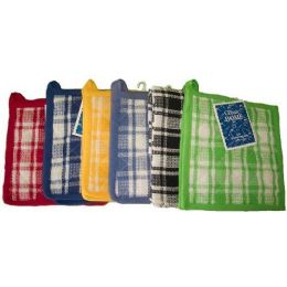 144 Units of 2pk 8x8 Cotton Solid Waffle Weave Pot Holder -Assts - Oven Mits & Pot Holders