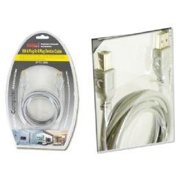 96 Units of 6 Feet Usb A Plug To B Plug Device - Electrical