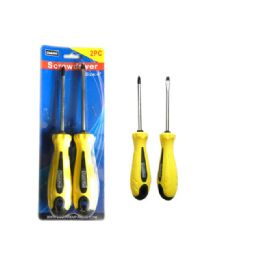 72 Units of 2 Piece Screwdriver - Screwdrivers and Sets