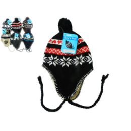 144 Units of Hat Winter For Boy 60g Asst - Fashion Winter Hats