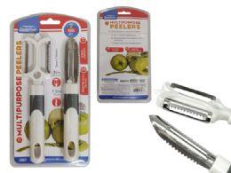 144 Units of 2 Piece Vegetable Peeler - Kitchen Gadgets & Tools