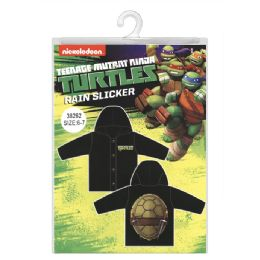 12 Units of Ninja Turtles Rain Slicker - Junior Kids Winter Wear