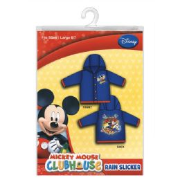 12 Units of Mickey Mouse Rain Slicker - Junior Kids Winter Wear