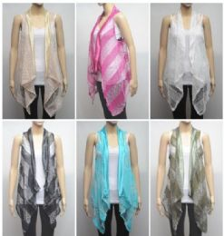 72 Units of Women's Glitter Fashion Shrug - Womens Sweaters & Cardigan