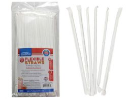 48 Units of 100pc Individually Wrapped Straws - Straws and Stirrers
