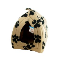3 Units of Cozy Fleece Indoor Pet House - Pet Accessories