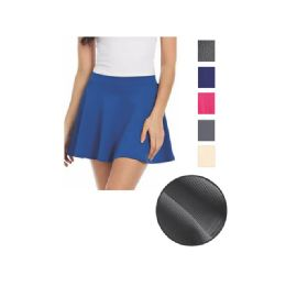 144 Units of Womens Fashion Skirt Assorted Colors And Size - Womens Skirts