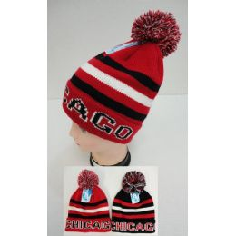 12 Units of Knitted Toboggan Hat [CHICAGO]