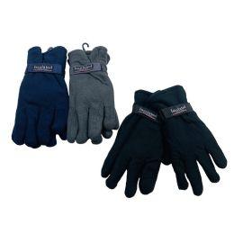 24 Units of Men's Thermal Insulate Fleece Gloves - Fleece Gloves