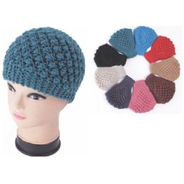 120 Units of Fashion Winter Knitted Hat Assorted Colors - Fashion Winter Hats
