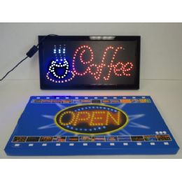 3 Units of Light Up Sign-COFFEE - Displays & Fixtures