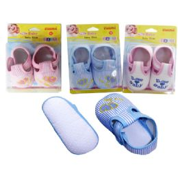 72 Units of Family Maid Baby Shoes in Assorted Colors - Baby Accessories