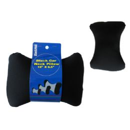 "48 Units of Car Pillow Black 10x6.5"" H - Pillows"