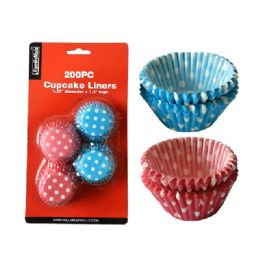 72 Units of 200pc Cupcake Liners - Baking Supplies