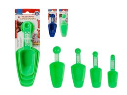 72 Units of 4 Piece Measuring Cup And Spoon Set - Measuring Cups and Spoons