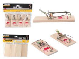 96 Units of 4pc Mouse Traps - Pest Control