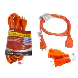 48 Units of ETL UL Std. Extension Cord 5ft - Chargers & Adapters