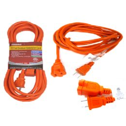 24 Units of 15 Feet Outdoor Extension Cord - Chargers & Adapters