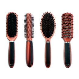 144 Units of 36 Piece Hair Brushes With Metal Rack - Hair Brushes & Combs