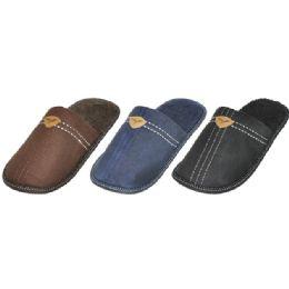36 Units of Mens House Slipper - Men's Slippers