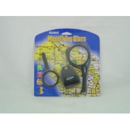 72 Units of Magnifying Glass 3 Pcs - Magnifying  Glasses