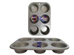 48 Units of 6 Piece Cupcake Pan - Frying Pans and Baking Pans
