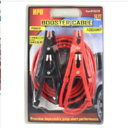 12 Units of 400 AMP Booster Cable - Auto Maintenance
