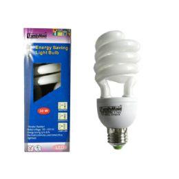 96 Units of 30 Watt Energy Saving Spiral Lightbulb - Lightbulbs
