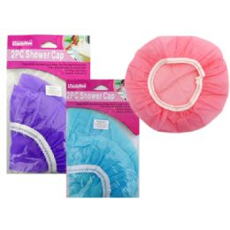 144 Units of Shower Cap 2pc - Shower Caps