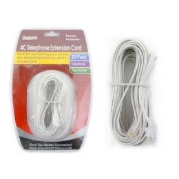 96 Units of Telephone Extention Cord - Chargers & Adapters