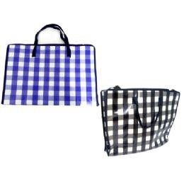 "144 Units of Shopping Bag 19.7x15x6"" W/zipper - Bags Of All Types"