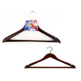 48 Units of Hanger Wooden 2pc - Hangers