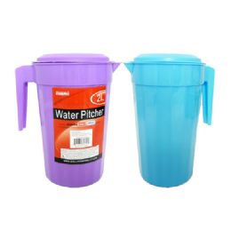 48 Units of Water Pitcher 2 Liters - Plastic Drinkware
