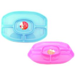 """48 Units of Serving Tray 5 Section 14.6*10.2*1.2"""" - Kitchen Trays"""