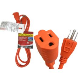 36 Units of 1.5 Feet Outlet Adapter 3 Plug +2 Sub - Chargers & Adapters