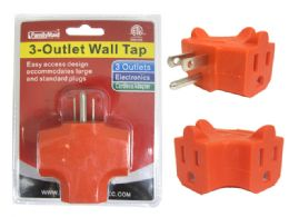 96 Units of Etl Outlet Adapter - Chargers & Adapters