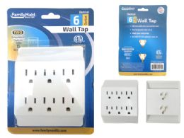 96 Units of Etl Ul Std. Outlet Adapter 6 Plugs - Chargers & Adapters