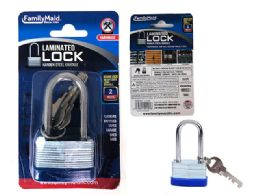 144 Units of 40mm Long Laminated Lock - Padlocks and Combination Locks