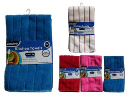 96 Units of 2 Piece Washing Cloth - Kitchen Towels