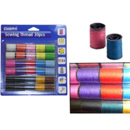 96 Units of Sewing Thread 30pcs - Sewing Supplies