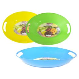 72 Units of Oval Serving Tray - Plastic Bowls and Plates