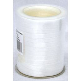 48 Units of 300ft Ribbon - Wht - Bows & Ribbons