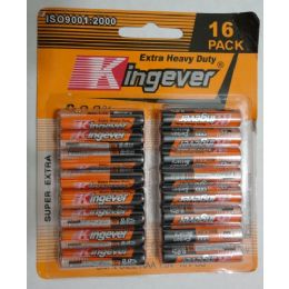 72 Units of 16pk Aaa Batteries [kingever] - Batteries